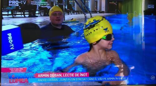 Armin Duban inot copii Aqua Swim