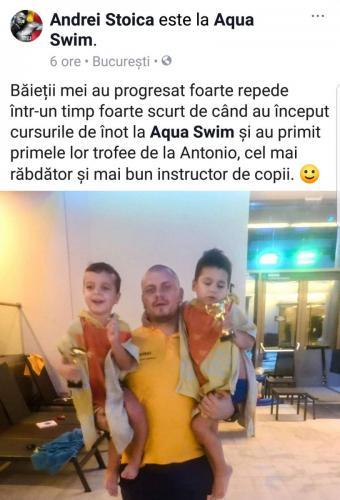 Aqua Swim lectii inot